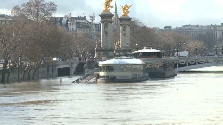 París y Lyon en alerta por la crecida de sus ríos