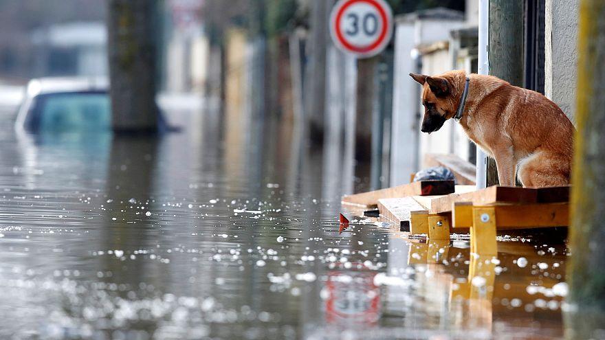 Hétvégére várják az áradás végét