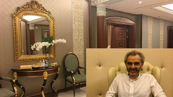 Saudi Arabian billionaire Prince Alwaleed bin Talal