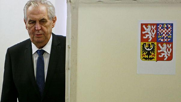 Milos Zeman nyerte a cseh elnökválasztást