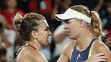 Avustralya Açık'ta kupayı Wozniacki  kaldırdı