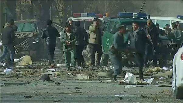 Suicide bombing rocks Kabul