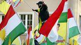Köln'de Zeytin Dalı Operasyonu karşıtı gösteri
