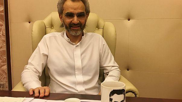Suudi milyarder Prens Talal serbest bırakıldı