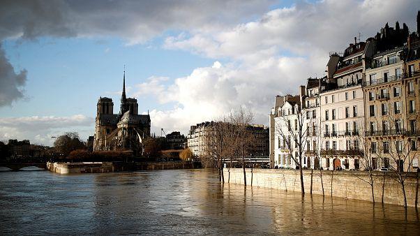 Flood of Seine River