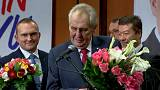 Zeman re-elected as Czech president