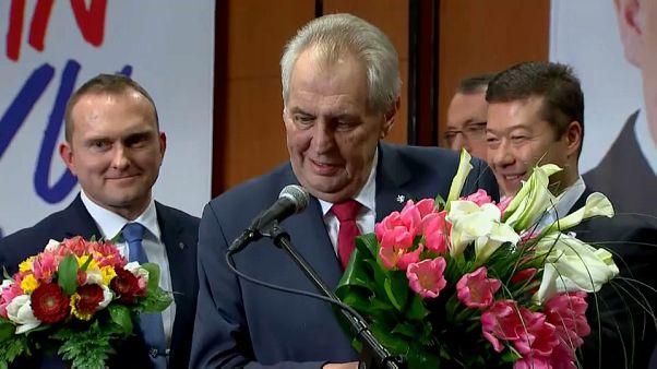 Zeman re-elected as Czech president