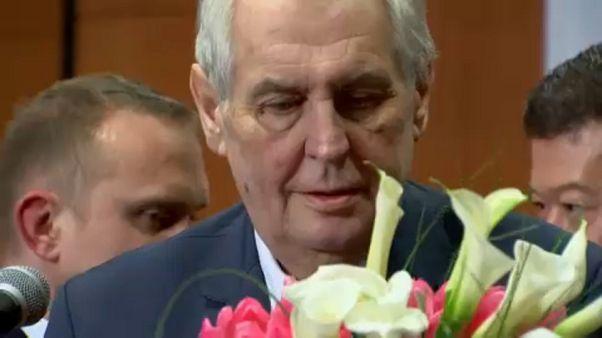 Milos Zeman marad a cseh elnök újabb öt évre