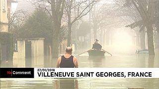 Paris está debaixo de água