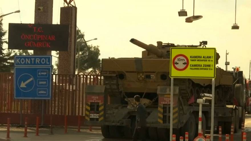 Turkey's military offensive in Syria enters second week