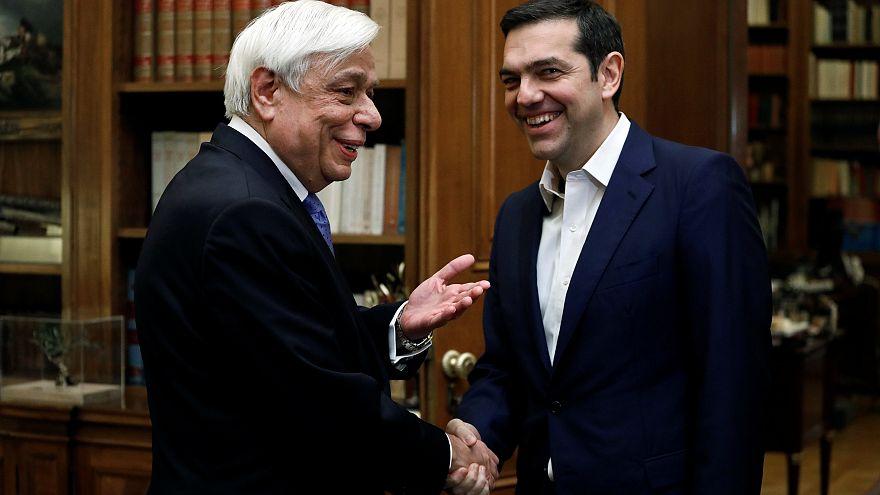 Tsiprs fez o ponto da situação ao presidente Mitsotakis