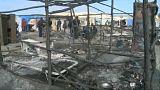 Ιταλία: Πυρκαγιά σε παραγκούπολη εργατών