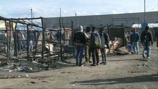 Incendie meurtrier dans un campement de fortune en Italie