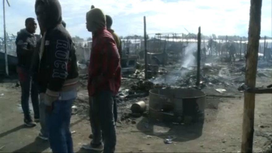Tűz pusztított egy calabriai nyomornegyedben