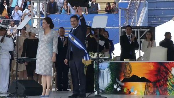 Вступление президента Гондураса в должность сопровождали протесты