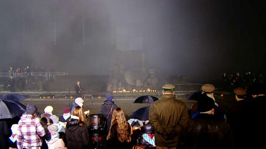В Польше почтили память жертв холокоста