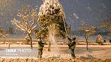 برف سنگین در تهران و دیگر استانهای ایران، از بسته شدن جادهها تا قطع برق و تعطیلی مدارس