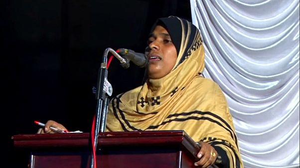 خطبه های اولین امام جمعه زن در هند