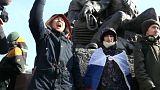 Pro-Navalny supporters in Vladivostok