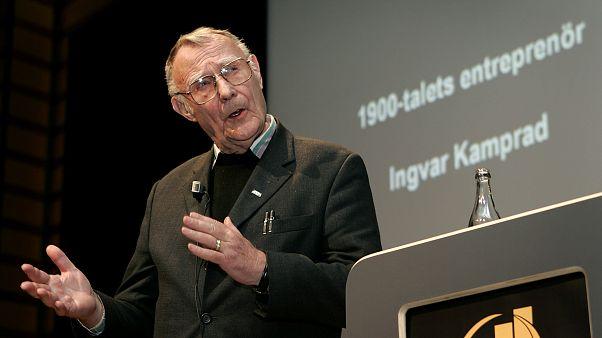 Πέθανε σε ηλικία 91 ετών ο ιδρυτής του ομίλου ΙΚΕΑ