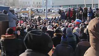 Rusya'da Navalny taraftarları sokağa indi