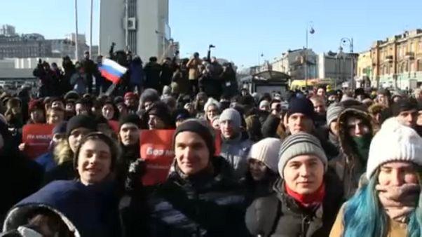 Valódi választásokat követelnek Navalnij támogatói