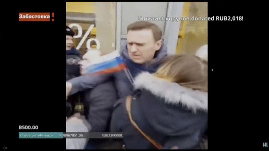 Navalny arrêté dimanche à Moscou
