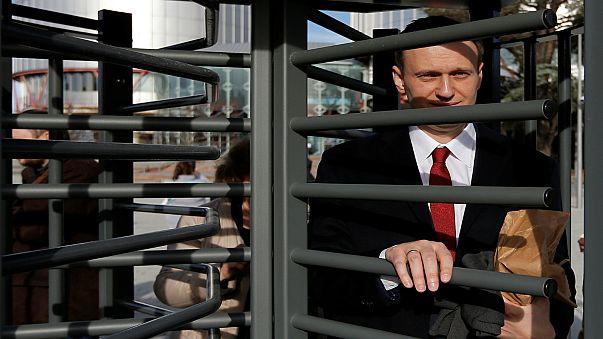اعتقال زعيم المعارضة الروسية أليكسي نافالني