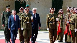 """Großer Respekt"": Steinmeier lobt König Abdullah in Jordanien"
