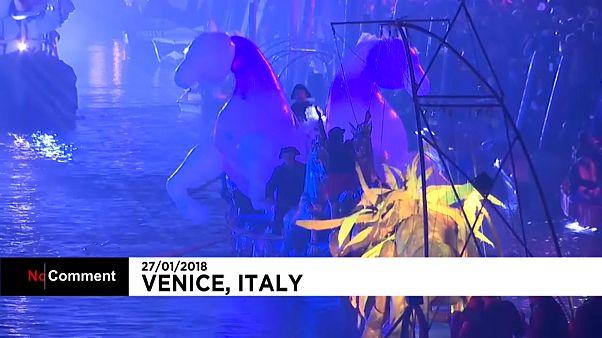 Al via il Carnevale di Venezia 2018