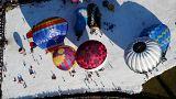En Suisse, des ballons de toutes les couleurs