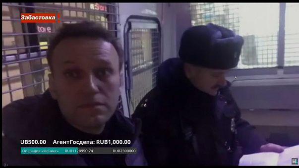Полиция освободила Навального