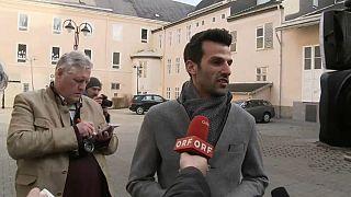 Udo Landbauer am Wahlsonntag