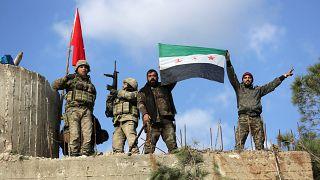 القوات التركية والجيش السوري الحر يسيطرون على منطقة استراتيجية شمال عفرين