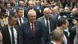 A populizmus segítette győzelemre Zemant Csehországban