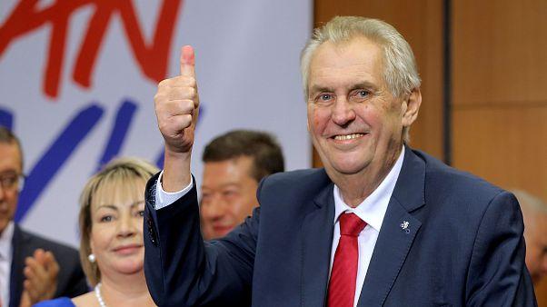 Inquiétudes après la réélection de Zeman en République tchèque