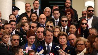 Le président chypriote Anastasiades en tête de la présidentielle