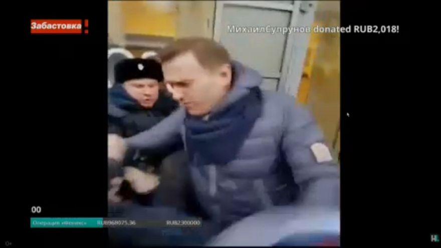 Óriási felháborodást váltott ki Alekszej Navalnij letartóztatása