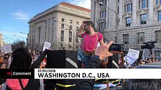 Desfile LGBT levou centenas às ruas da cidade de Washington