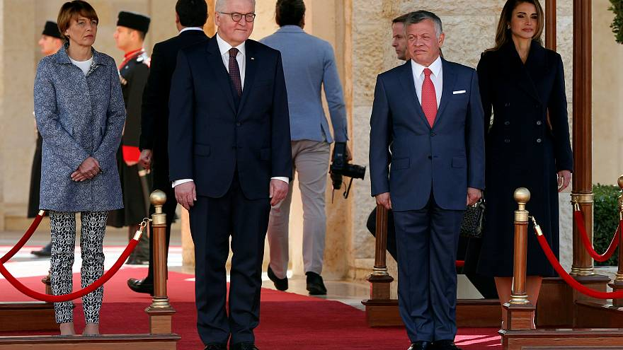 Il presidente tedesco Steinmeier in Giordania
