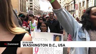 Manifestation LGBT à Washington