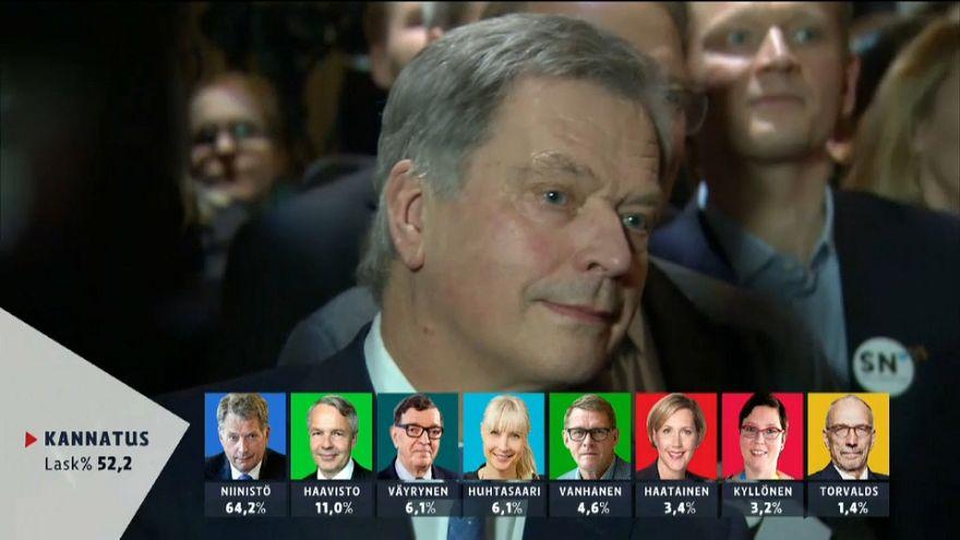 Landslide victory for Finnish President