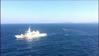 Yunan botu ve gemisi Kardak bölgesinden uzaklaştırıldı
