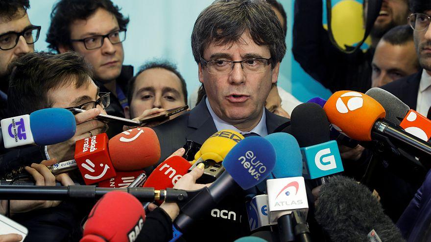 Puigdemont başkanlık için yeniden yargı yolunda