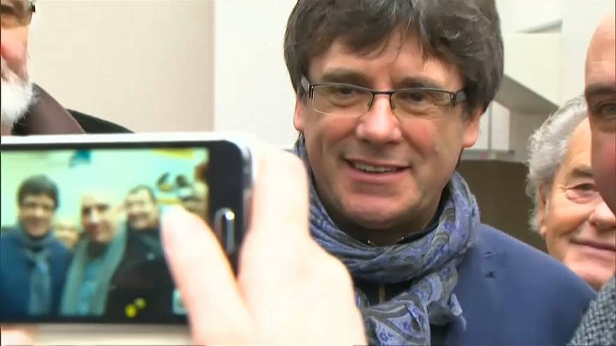 Carles Puigdemont plans to be Catalan's next president