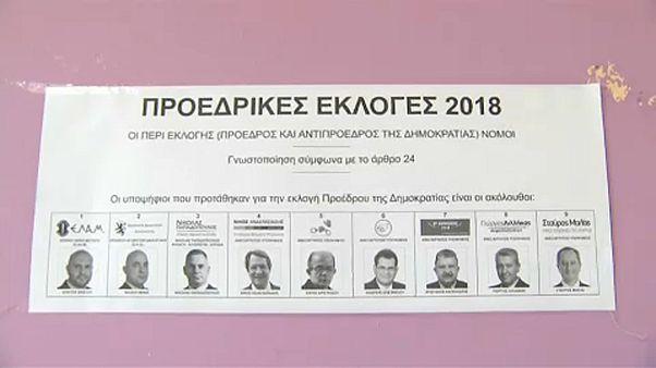 Nicos Anastasiades vence primeira volta das presidenciais cipriotas