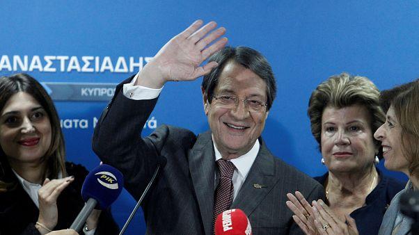 Güney Kıbrıs'ta cumhurbaşkanlığı seçimleri 2'inci tura kaldı