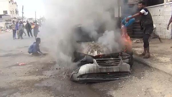 Confrontos mortíferos no Iémen