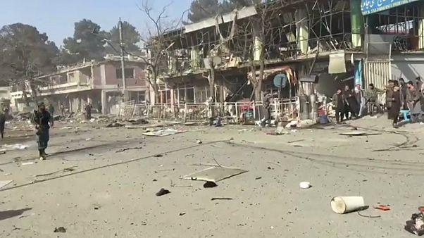 Kabil'de askeri okula silahlı saldırı : 2 asker öldü