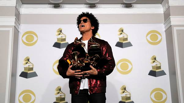 New York: Bruno Mars überstrahlt 60. Grammy-Verleihung